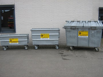 Afbeelding: Rolcontainers staal